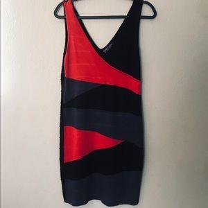 Forever 21 spandex body dress